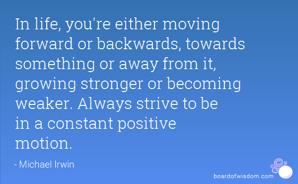 TGIM – Constant Forward Motion