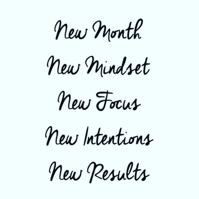 New Month! New You!